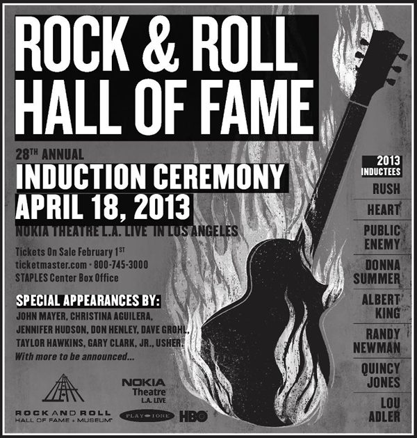 rush is a band blog rock and roll hall of fame induction ceremony ticket sale and pre sale. Black Bedroom Furniture Sets. Home Design Ideas