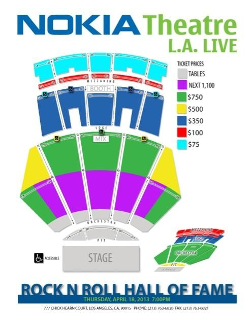 Rock And Roll Hall Of Fame Induction Ticket Price.html ...