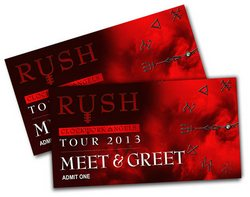 Rush Meet & Greet passes