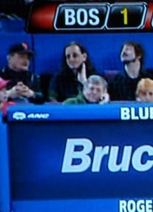 Geddy at a Blue Jays game