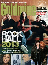 Rush Goldmine Rock Hall special issue