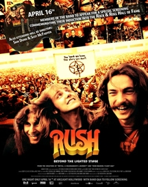 Rush documentary screening