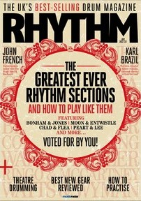 Rhythm magazine July 2013