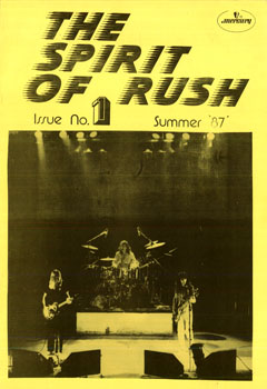 The Spirit of Rush, issue 1