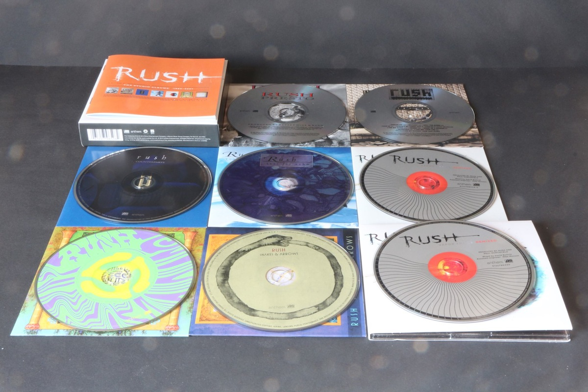 Rush - The Studio Albums - 1989-2007