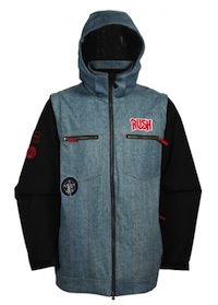 Rush snowboard jacket