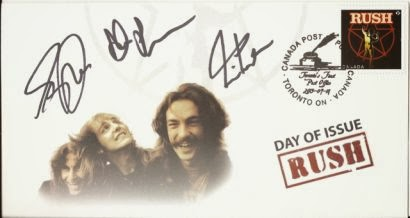 Rush limited edition stamp collectible