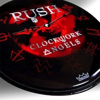 Rush Clockwork Angels drumhead
