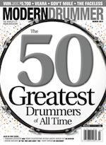 Modern Drummer March 2014