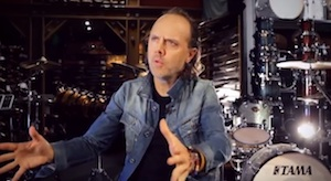 Earlier This Month Metallica Drummer Lars Ulrich Sat Down With Guitar Center For A Video Interview And Tells Story Of How Neil Peart Helped Turn Him On To