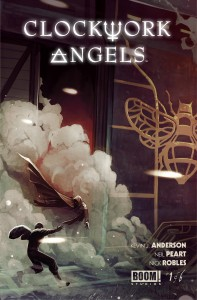 Clockwork Angels Larry's Comics cover