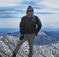 NP on Telescope Peak