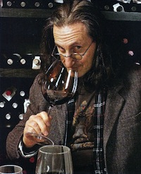 Geddy Lee and some wine