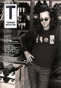 Geddy Lee Terroni magazine