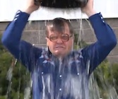 Bubbles ice bucket challenge