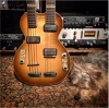Geddy Lee's 1961 Hofner 191 double-neck guitar
