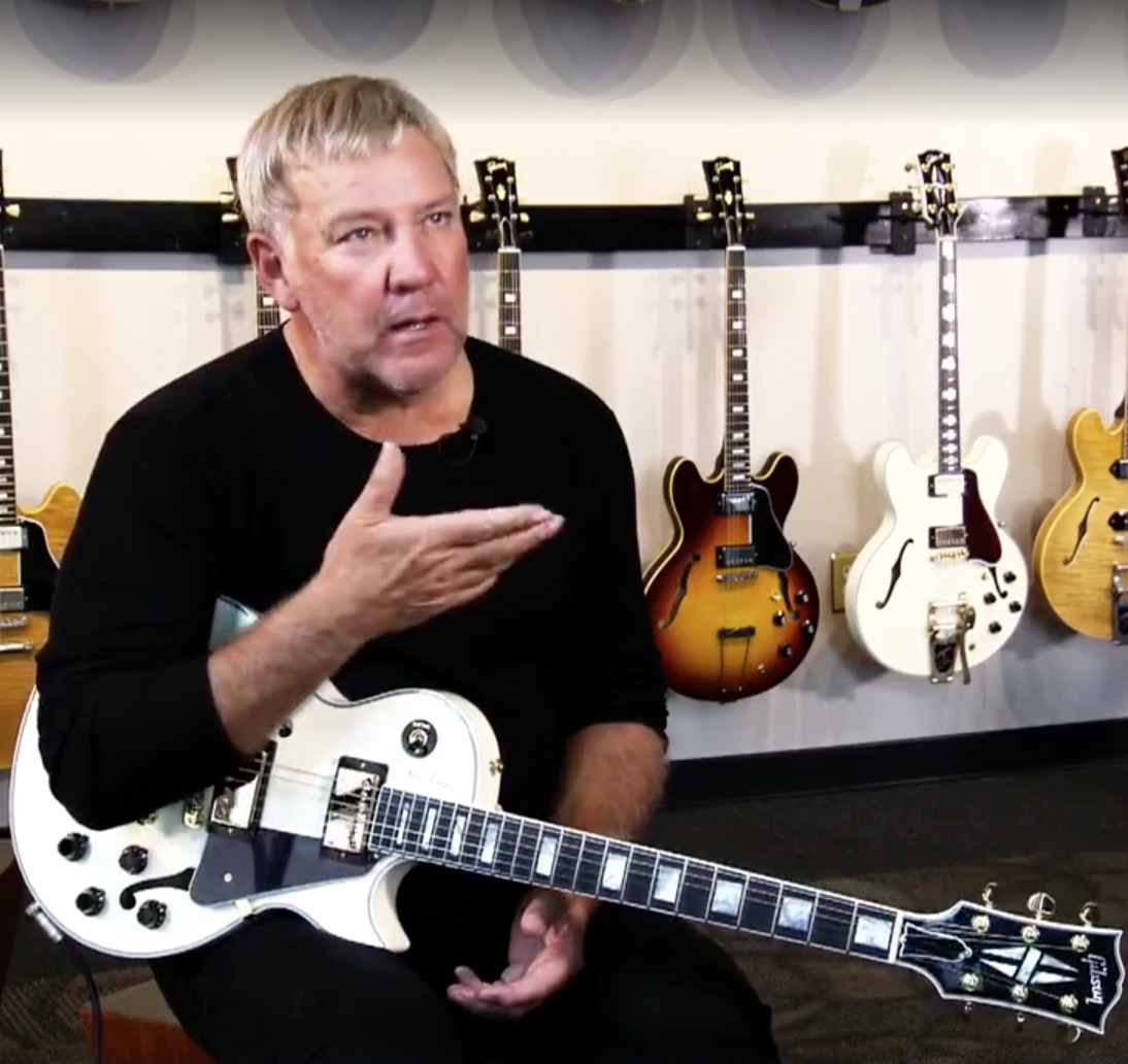 Rush Is A Band Blog Video Of Alex Lifeson Discussing His New Gibson
