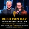 Rush Fan Day at Rock Hall