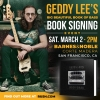Geddy Lee San Francisco book signing