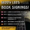 Geddy Lee European book signing tour