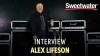 Alex Lifeson with his Lerxst amp